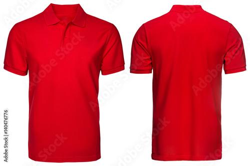 fototapeta na lodówkę Red Polo shirt, clothes