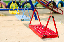 Metal Swing Colorful In Playgr...