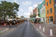 Uferstrasse (Berühmteste Skyline von Cuaracao - Willemstad) aus nächster Sicht