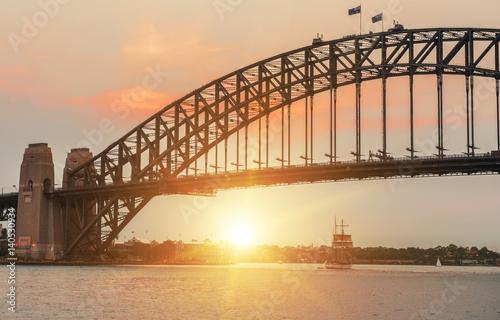 Fotobehang Praag Sunset in Sydney