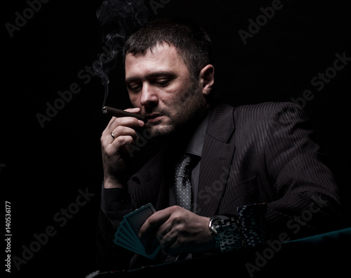 cigar, smoking плакат