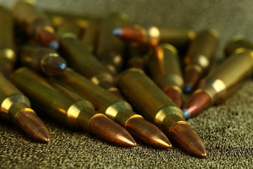 Panel Szklany Militaria amunicja