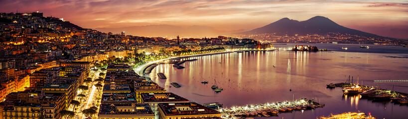 Fototapeta Panorama Miasta Naples Pano