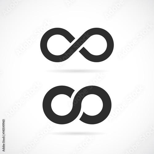 Fotografia  Infinity vector symbol
