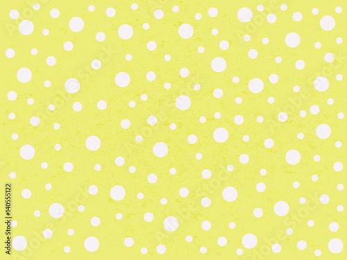 Materiał do szycia słodkie kropki żółte tło