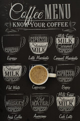 Fototapeta Kawa coffee poster