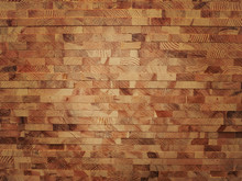 Red Stack Wood Texture Background.