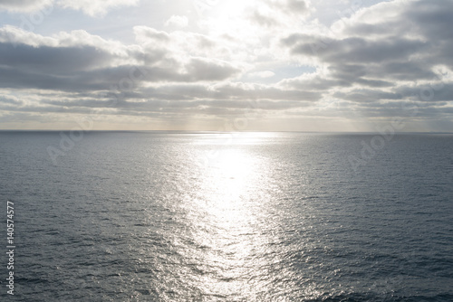 Sunrise over the Pacific Poster