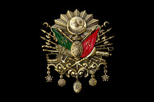 Gold Emblem Of Ottoman Empire