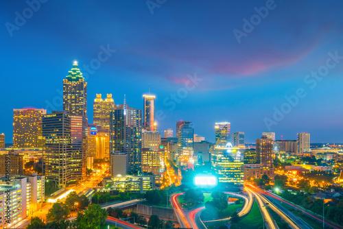 Zdjęcie XXL Skyline miasta Atlanta