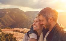 Erfolgreiches Abenteuer Paar