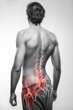 Male With Hip Bone Pain
