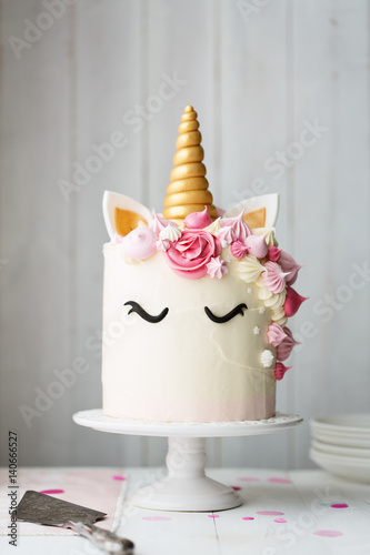 Unicorn Cake Buy This Stock Photo And Explore Similar