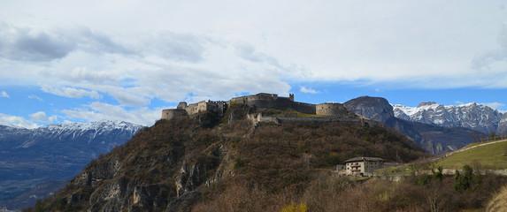 Fototapeta na wymiar Castel Beseno, Trentino alto-adige