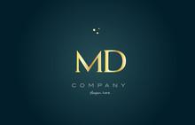 Md M D  Gold Golden Luxury Alp...