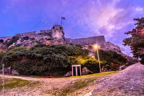 Fortress Klis Croatia Canvas Print