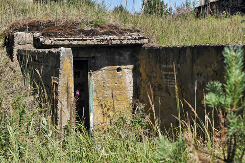 Photo  Abandoned military constructions, Russia