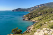 panoramic view from Porto Ercole, tuscany, italy