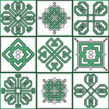 Celtic Endless Decorative Knot...