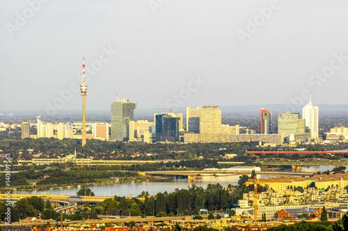 Wien Donaucity Donau österreich 19 Bezirk Kahlenberg Buy