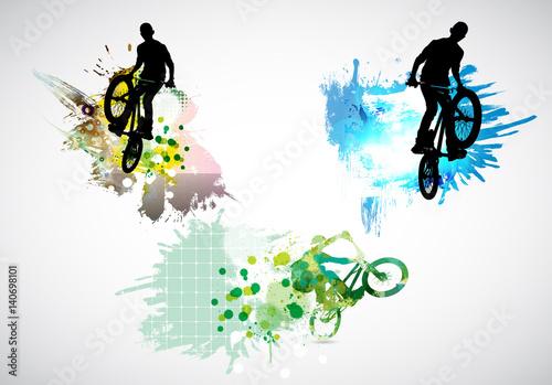 Fototapeta sportowe rowery