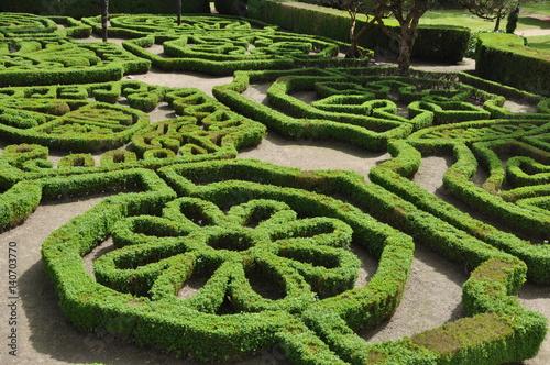 jardines del Pazo de Mariñán