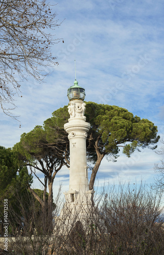 Photo  Gianicolo Hill old lighthouse in Rome