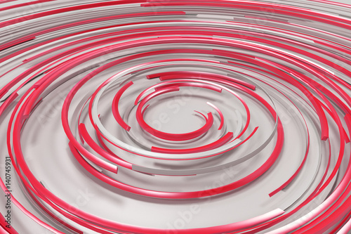 bialo-czerwona-koncentryczna-spirala-trojwymiarowa-ilustracja