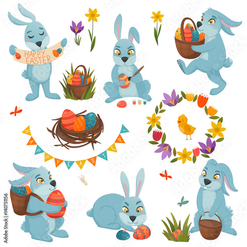 Acrylic Prints Dinosaurs Easter Decorations Big Set