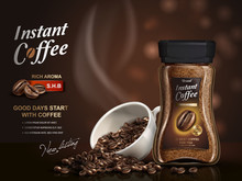 Instant Coffee Ad