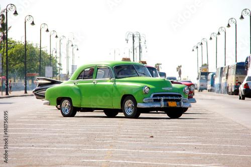 Wall Murals Old cars Cuba - Havana