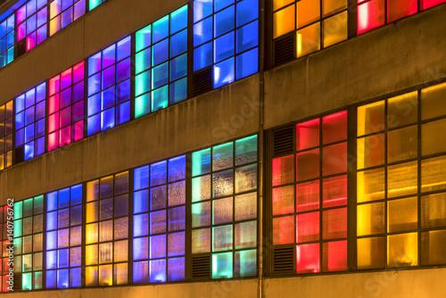 Valokuva  Gebäude im Licht