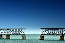 Old Railroad Bridge In The Bah...