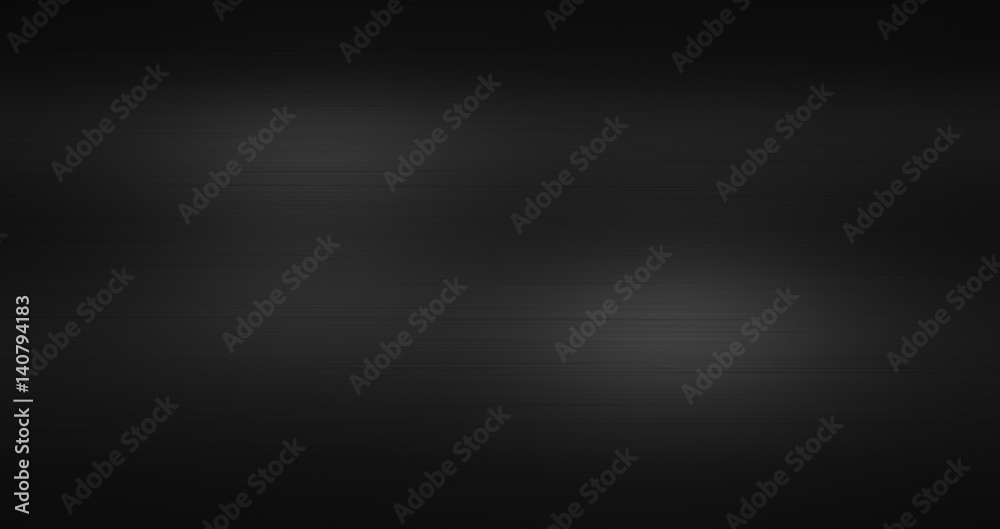 Fototapety, obrazy: Metal brushed texture black background