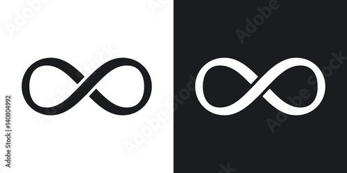 Fotografia  Vector infinity sign