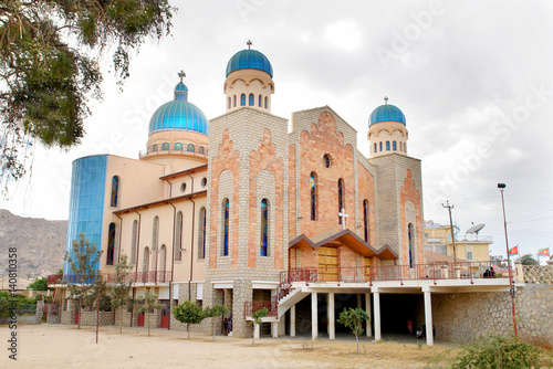 Photographie  New Church  of  Saint Anthony of The Eritrean Catholic Eparchy of Keren
