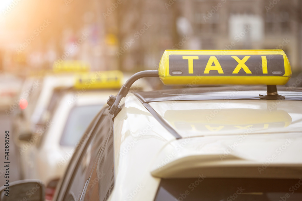 Photo & Art Print german taxi signs | EuroPosters