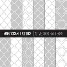 Moroccan Lattice Patterns In W...