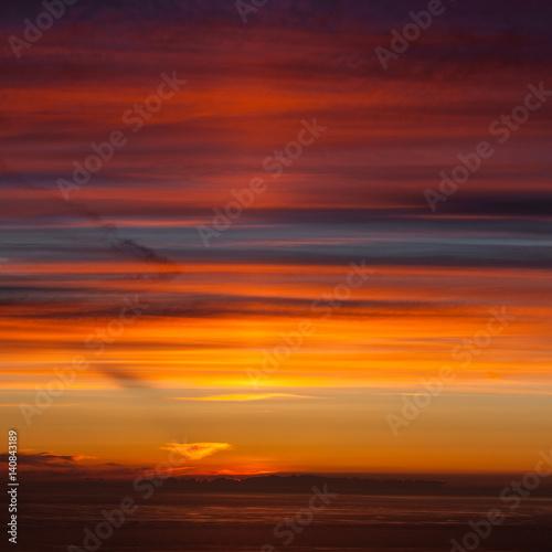 Poster Bordeaux colours of sunset