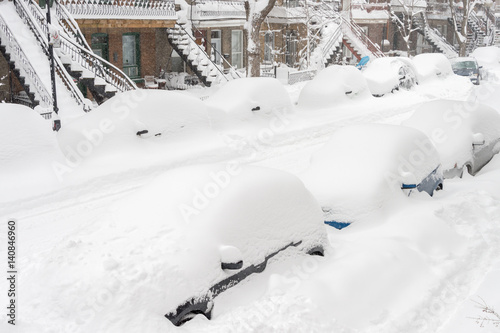 Powerful snow storm Stella pounds Montreal and leaves up to 60cm of snow (15th M Poster