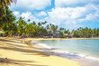 Super vacation. Tropical beach in Dominican Republic