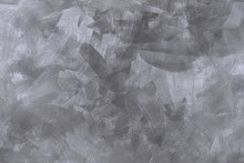 Hand Painted Silvery Background Of Brush Strokes And Sponge Painting To Created A Textured Surface