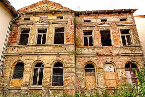 Fényképezés  Ruine eines Wohnhauses