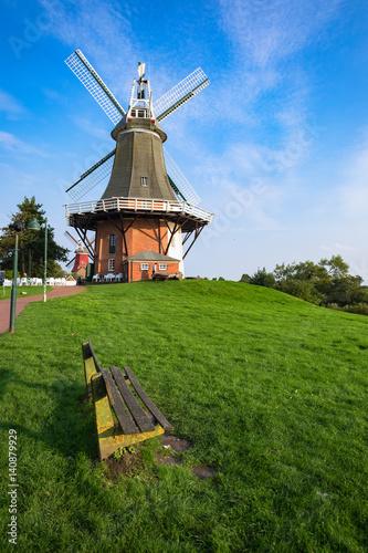 Poster Molens Windmühle von Greetsiel