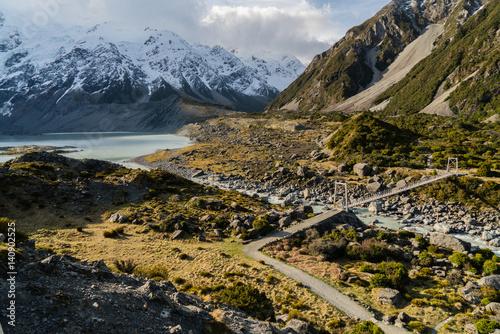 Hooker Valley Track  | Aoraki/Mt Cook National Park, Canterbury, New Zealand Poster
