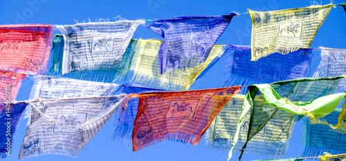 Valokuvatapetti buddhism tibet flags