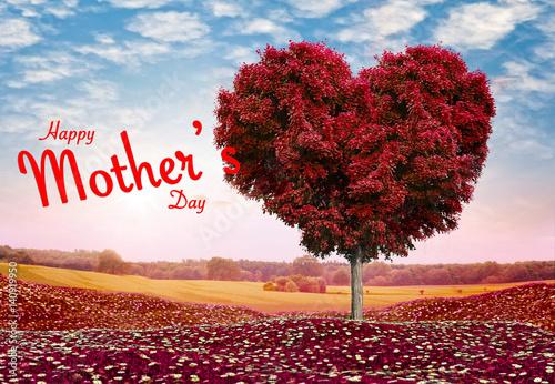 Fototapety, obrazy: happy mother's day theme