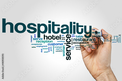 Fotomural Hospitality word cloud