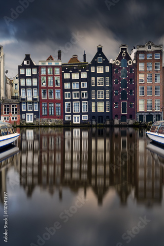 Netherlands, Amsterdam. Poster