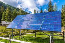 Photovoltaikanlage Zur Generierung Von Regenerativer Energie